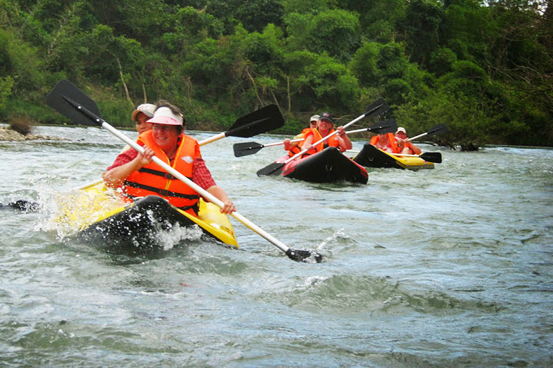 Bike and Raft Dalat to Nha Trang
