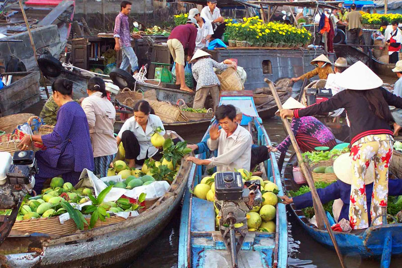 Mekong Delta 2 Days 1 Night Tour
