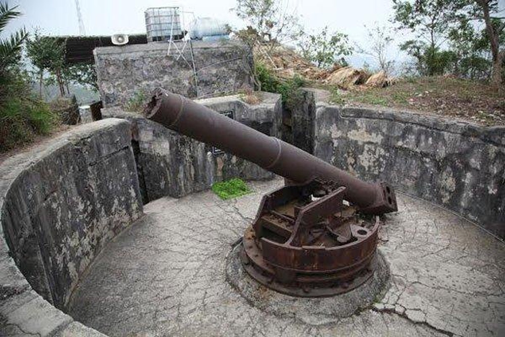 hai phong cat ba cannon fort
