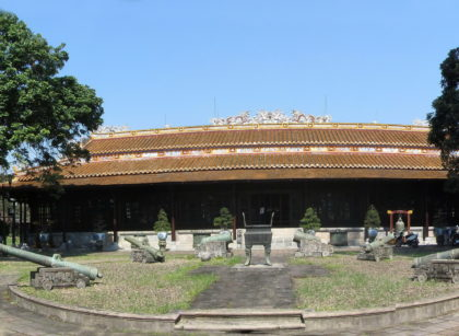 royal fine arts museum, hue
