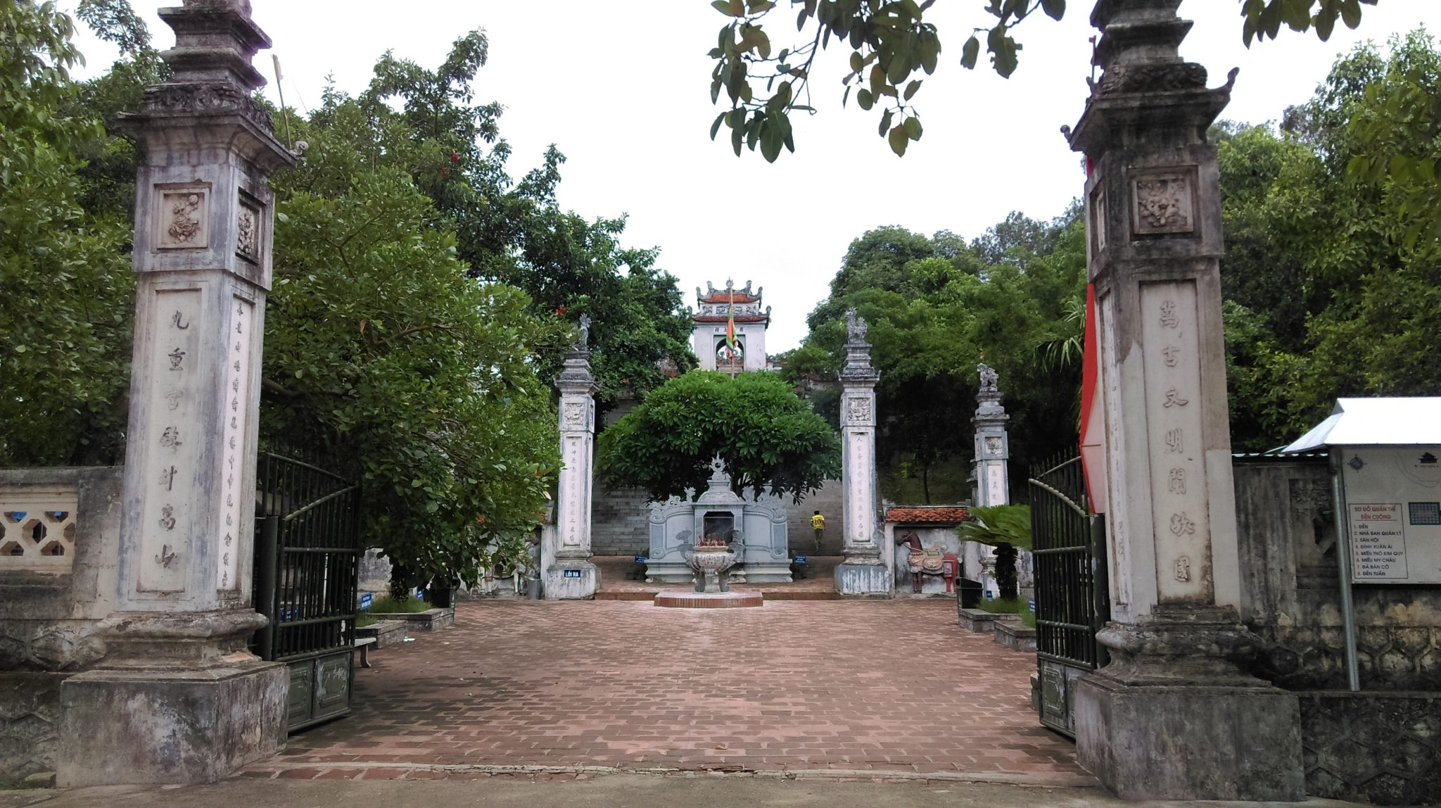 nghe an cuong temple